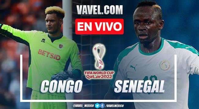 Goles y resumen del Congo 1-3 Senegal en Eliminatorias de la Copa del Mundo 2021