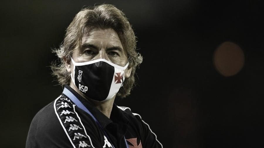 Ricardo Sá Pinto em Vasco 0 a 1 Defensa y Justicia (CONMEBOL/Divulgação)