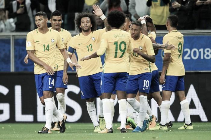 Brasil ganó con tranquilidad