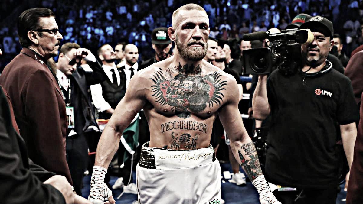 """McGregor: """"Le di mi respeto, ganó el partido, veamos que pasa la próxima vez"""""""