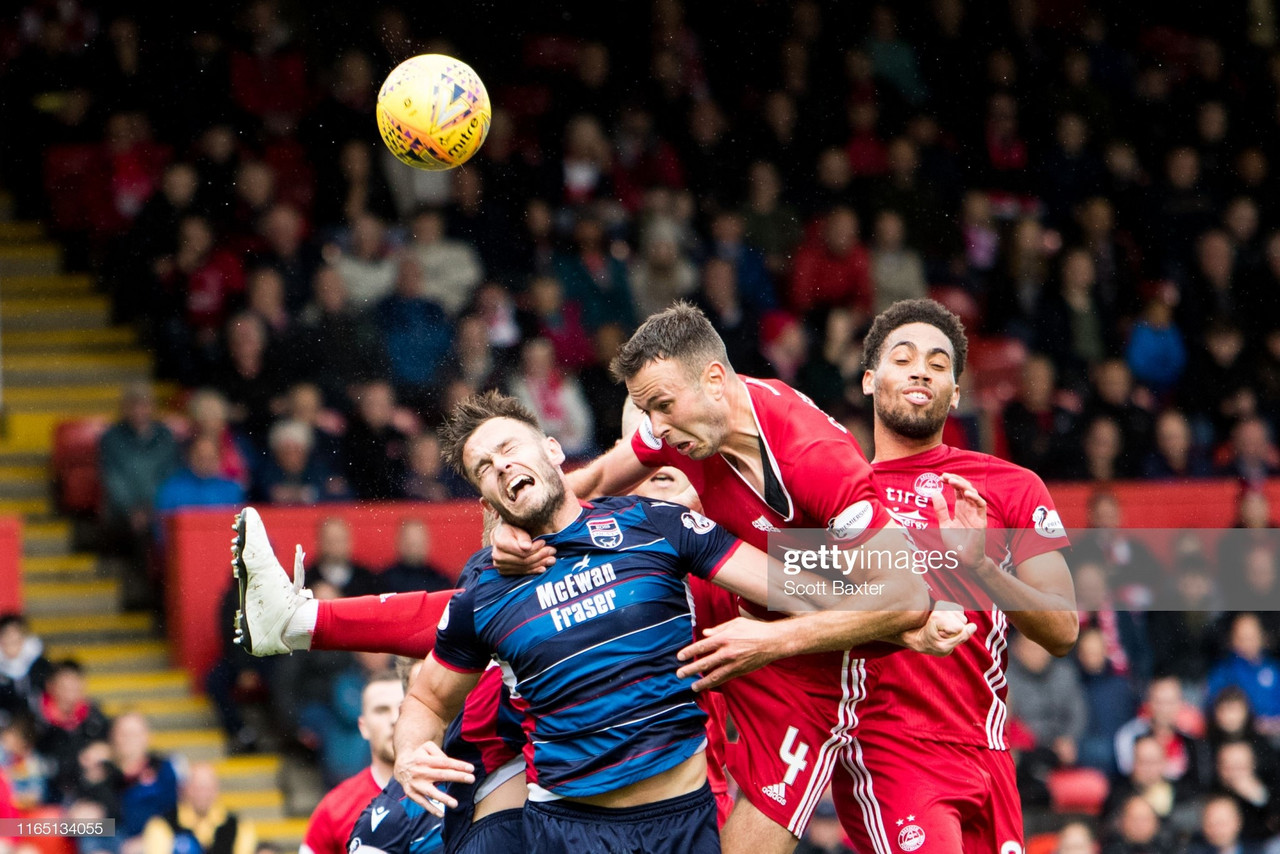 Aberdeen 3-0 Ross County: Comfortable victory sees Dons get back on track