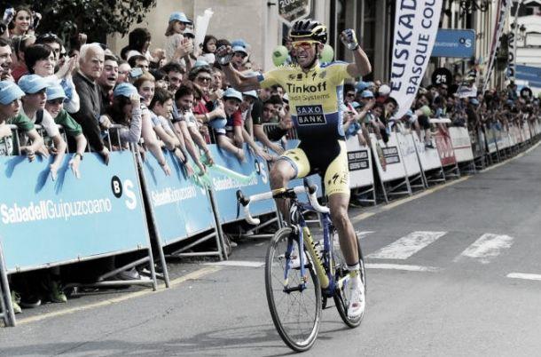 Valverde ataca, Contador remata en la Vuelta al País Vasco