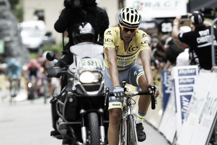 """Alberto Contador: """"Necesito más velocidad en las piernas, no pude seguirles"""""""