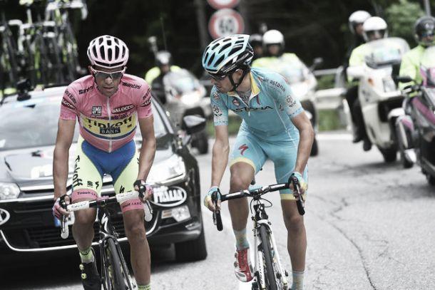 Landa manda no Mortirolo no dia em que Contador se fez miragem para Aru
