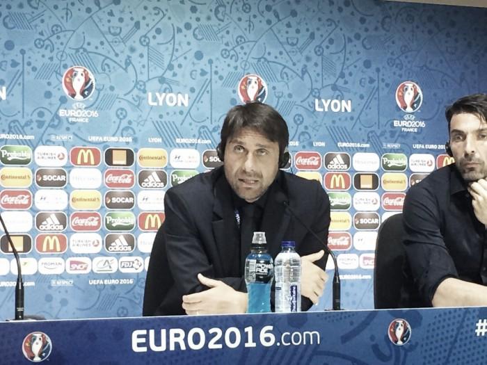 """Euro 2016, Conte: """"Farò diversi cambi di formazione, ma non sarà una partita inutile"""""""
