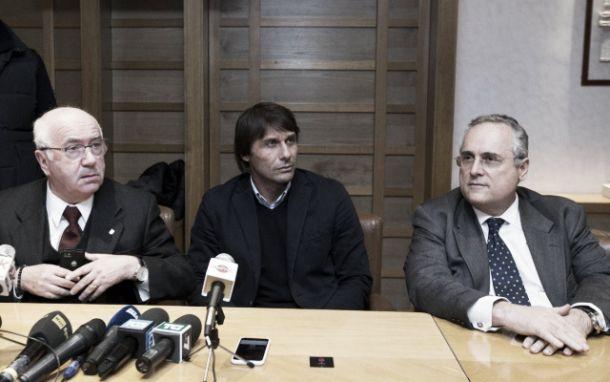 """Tavecchio: """"Conte resterà al suo posto, rispettando il contratto"""""""