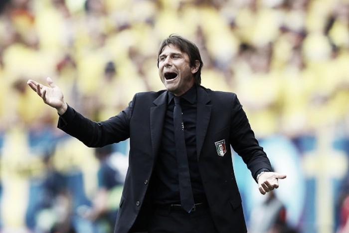 """Conte ironiza críticas: """"Quem esperava que a Itália fosse se classificar com dois jogos?"""""""