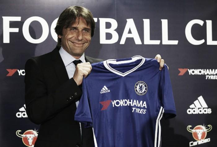 """Antonio Conte é apresentado pelo Chelsea: """"Feliz em trabalhar na melhor liga do mundo"""""""