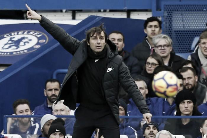 """Depois de golear Stoke, Conte elogia atuação do Chelsea: """"Desempenho muito positivo"""""""