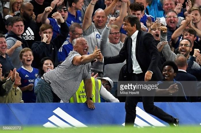 Antonio Conte left 'very happy' following Everton victory