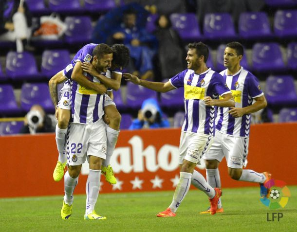 Un Real Valladolid intermitente