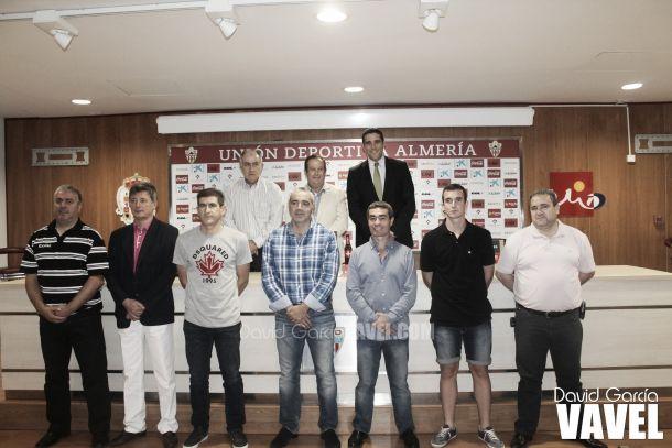 El Almería presenta un ambicioso convenio de colaboración con clubes de la provincia y de Granada