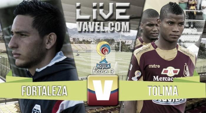 En vivo: Fortaleza 0-0 Deportes Tolima 2016 online en Liga Águila