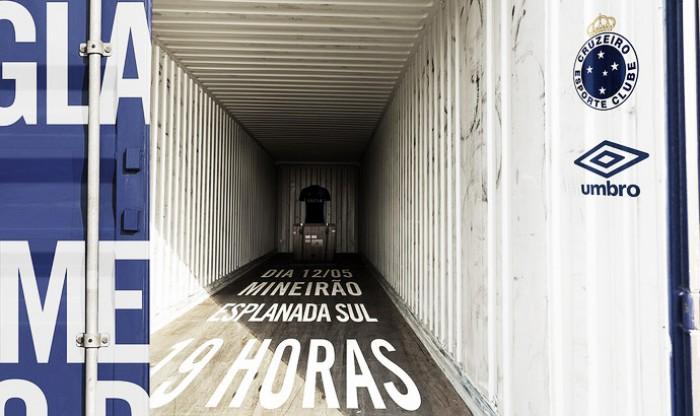 Novo uniforme do Cruzeiro será lançado nesta quinta-feira, na Esplanada do Mineirão