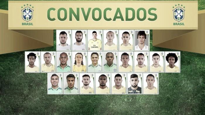 Dunga convoca Seleção para Copa América com surpresas e sete sub-23