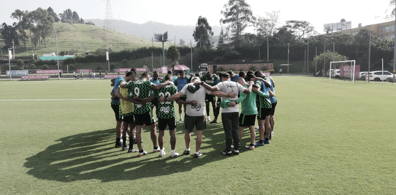 Convocatoria de Atlético Nacional para la búsqueda del liderato
