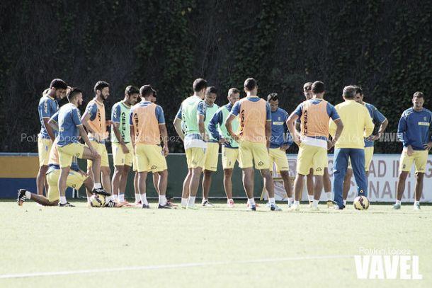 Hernán entra en la lista de 19 para viajar a Sabadell