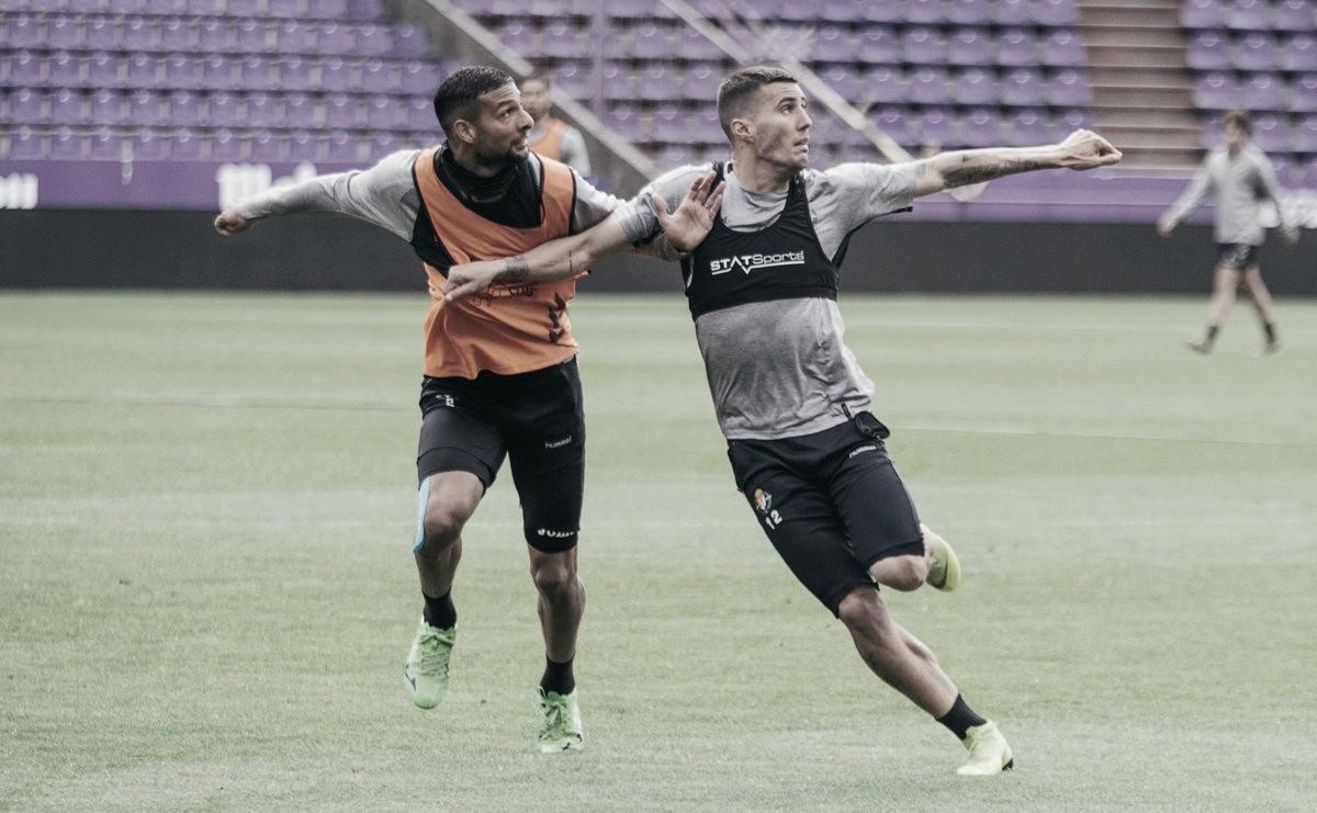 Borja y Nacho vuelven a la convocatoria del Real Valladolid