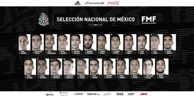 México anuncia lista para nuevo microciclo