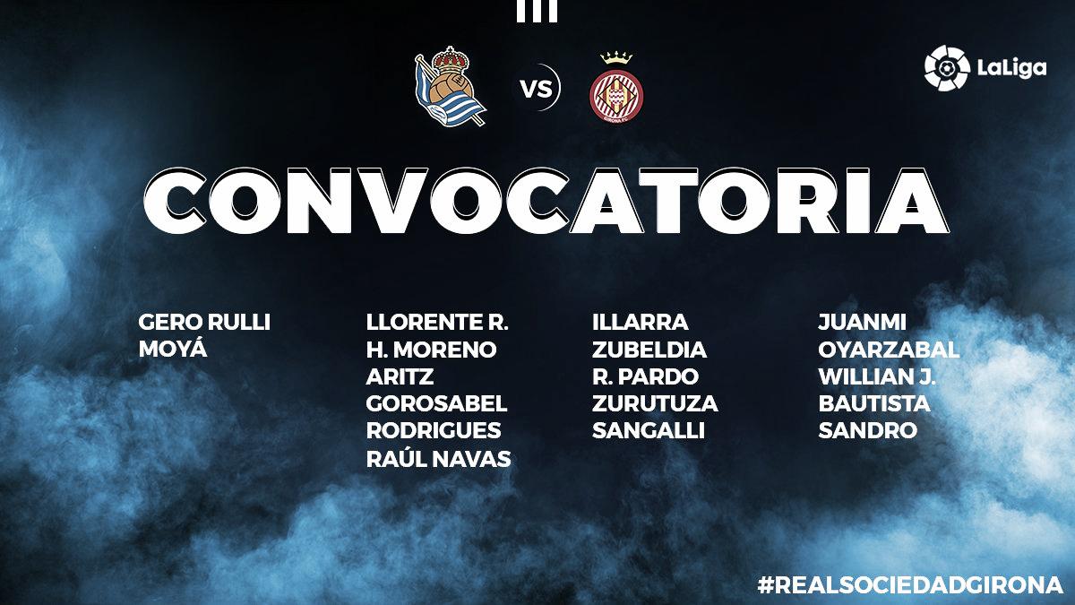Llorente y Juanmi, novedades en la lista