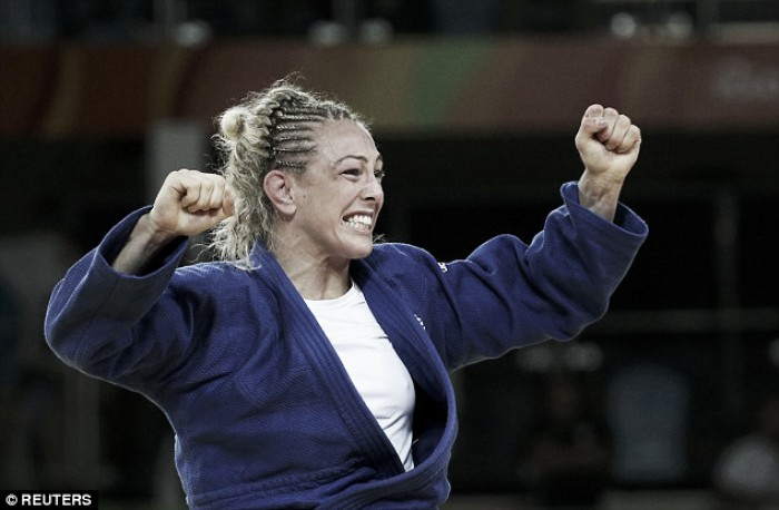 Scot Sally Conway wins Olympic bronze medal in judo