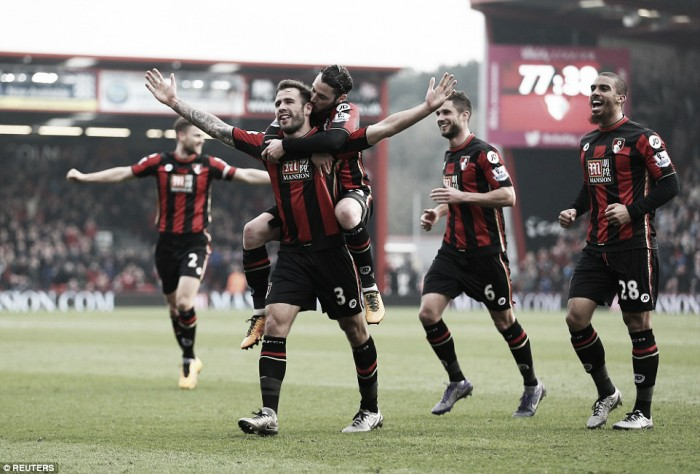 Bournemouth 3-2 Swansea City: Cook steals the points as relegation candidates serve up thriller