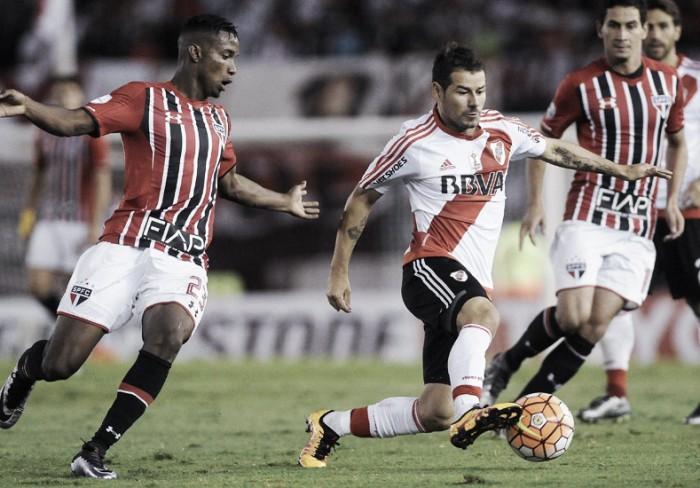 River Plate y San Pablo igualaron en un vibrante partido