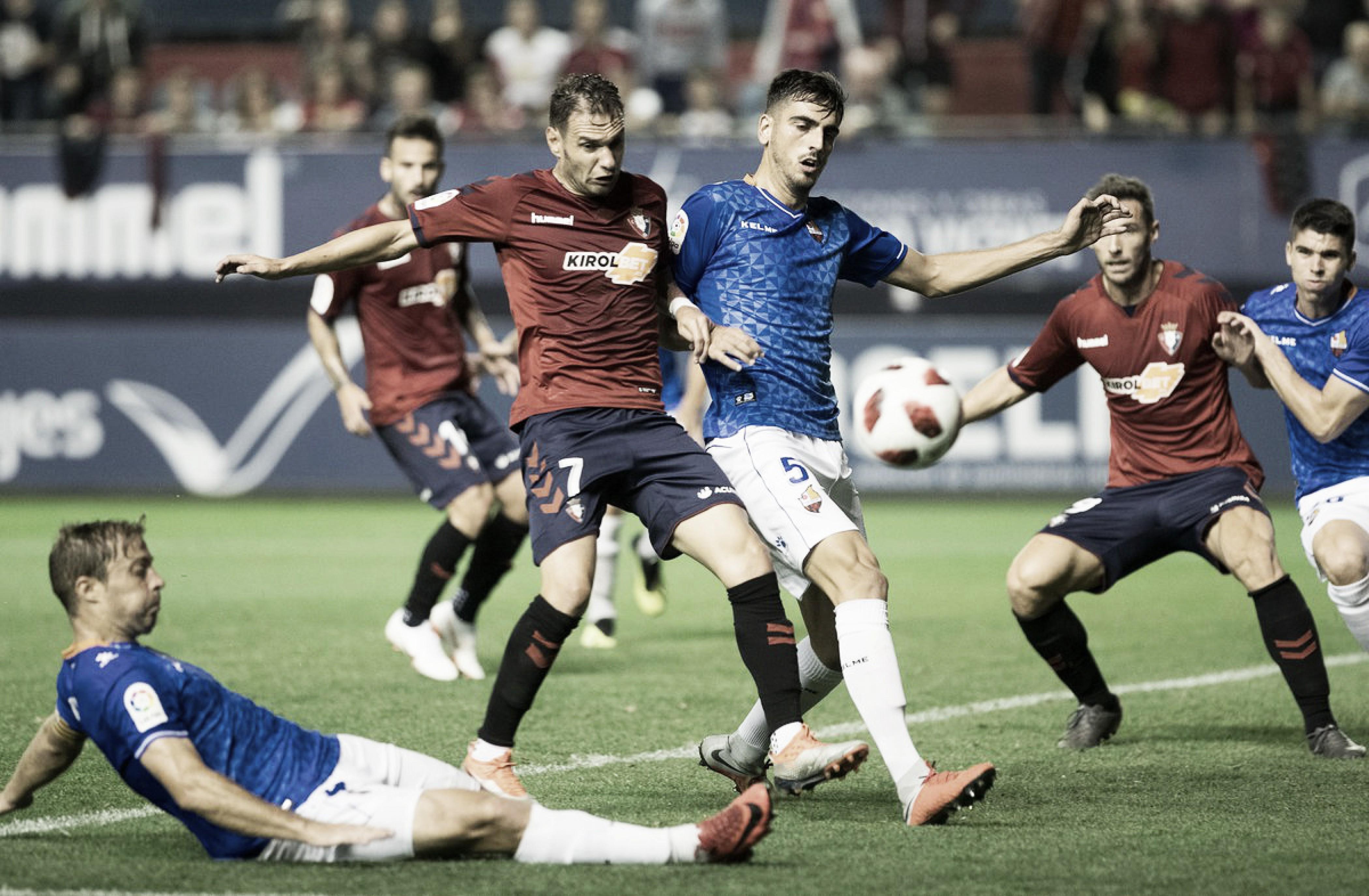 Osasuna, fuera de la Copa pero con buenas sensaciones