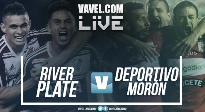 River Plate vs Deportivo Morón en vivo por Copa Argentina (3-0)