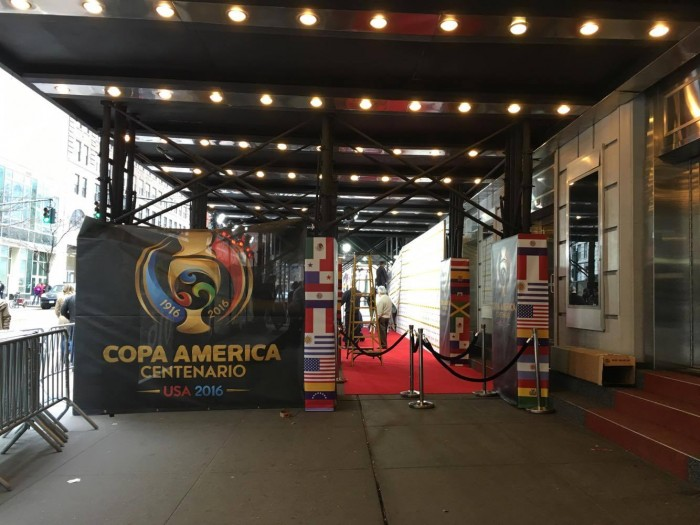 Copa America Centenario 2016 Draw Live Updates And Results From New York City