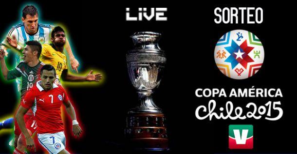 Sorteo de la Copa América Chile 2015
