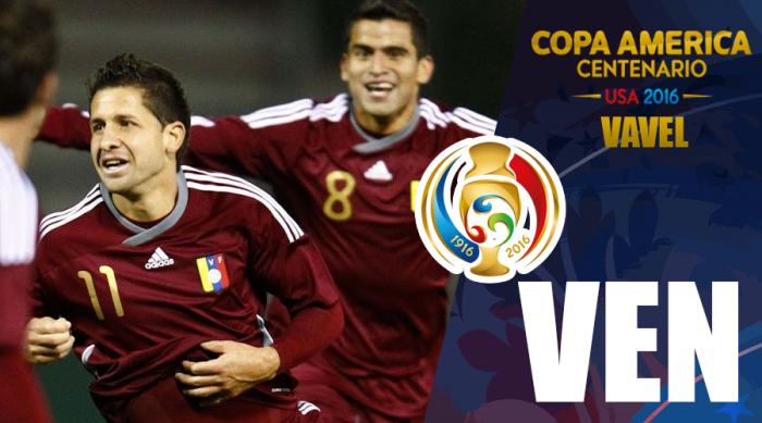 Copa América Centenário: Venezuela vai aos Estados Unidos buscando redenção
