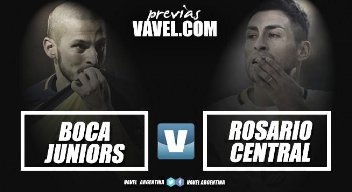 Previa Boca Juniors - Rosario Central: En busca de los cuartos