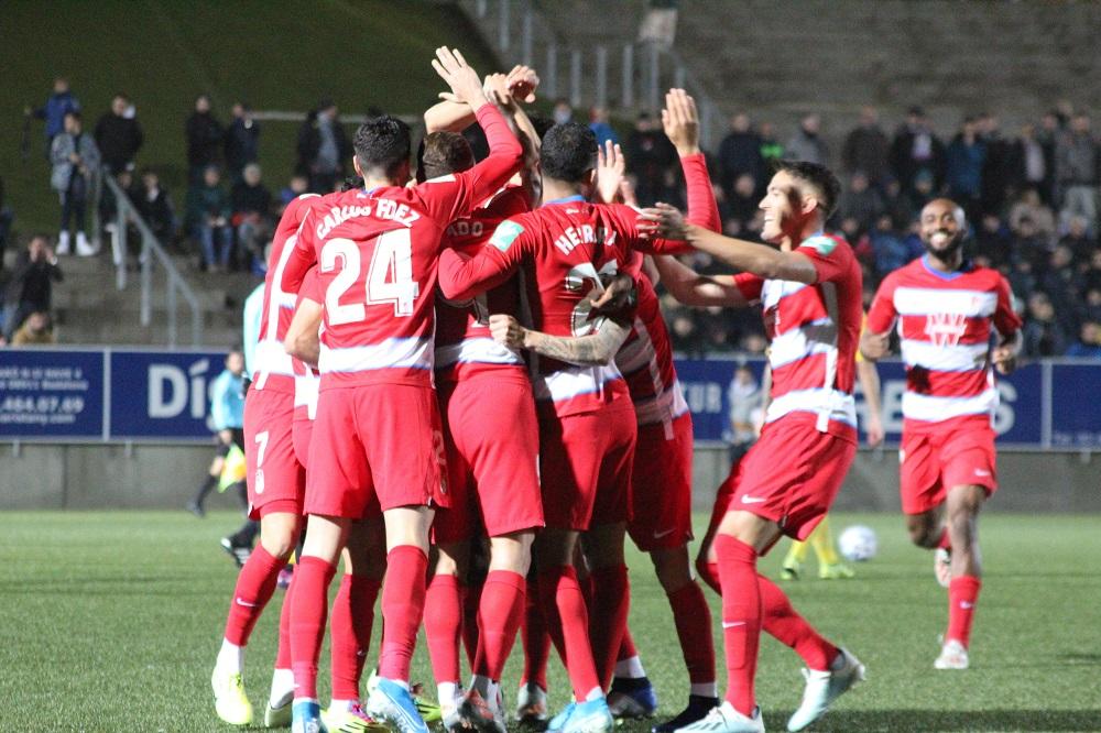 El Granada CF acaba con el sueño copero del CF Badalona