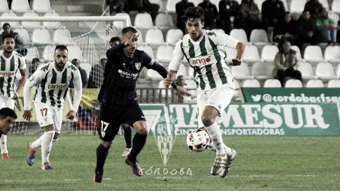 Málaga CF - Córdoba CF: defender el 2-0 con uñas y dientes
