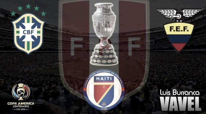Los rivales de la Selección Peruana en la Copa América Centenario