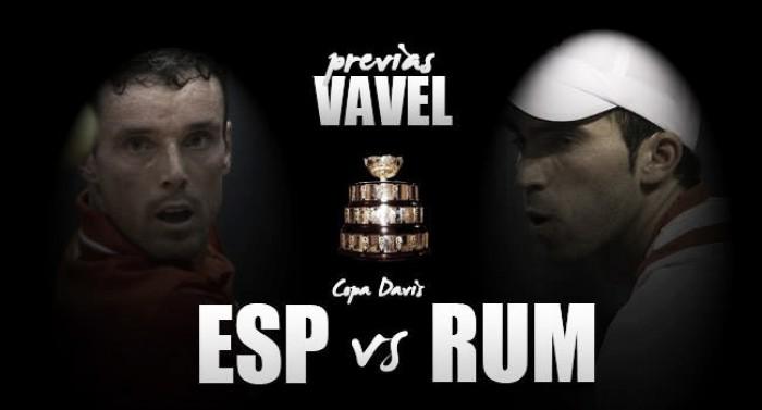 Copa Davis 2016. Rumanía - España: comienza la escalada hacia la élite