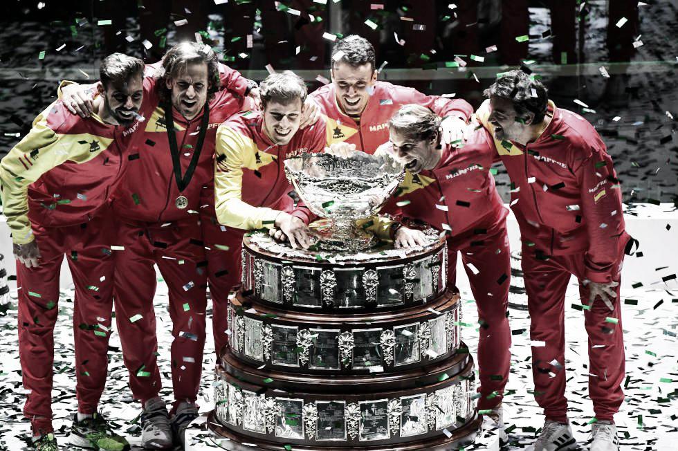 La Copa Davis quedó en manos de España