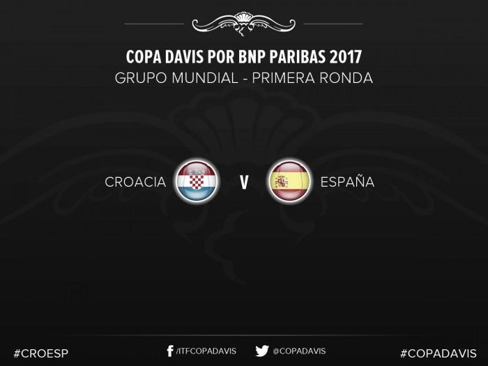 Croacia será el rival de España en Copa Davis 2017