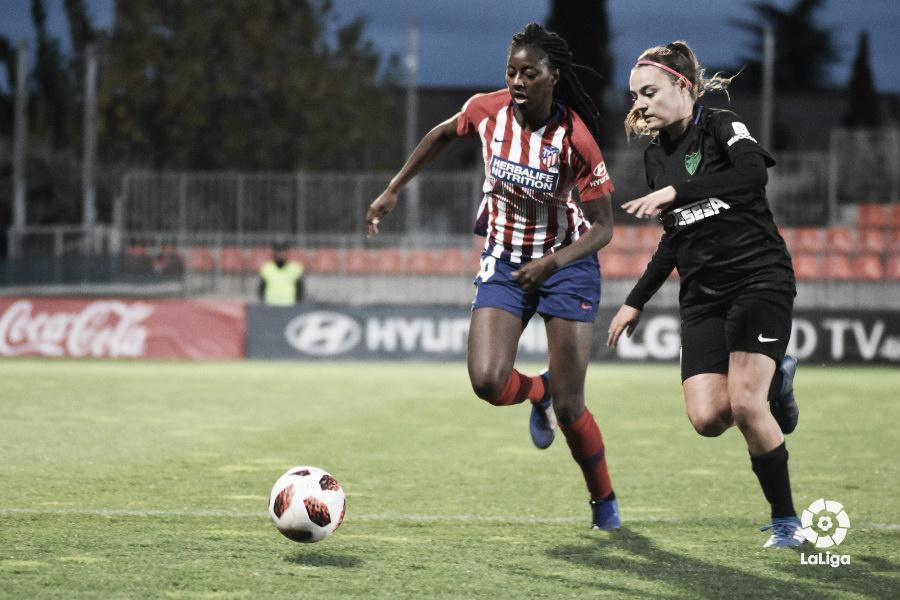 Buena imagen del Málaga Femenino en la Copa de la Reina y segunda victoria del Atlético Malagueño