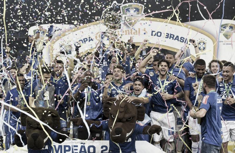 Em busca dobicampeonato da Copa do Brasil, Cruzeiro venceu a última final com 100% de aproveitamento