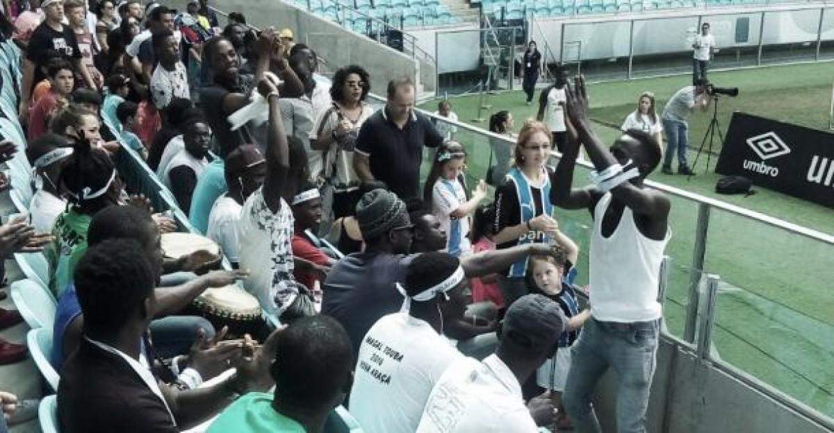 Visando inclusão social, Copa dos Refugiados terá fase regional na Arena do Grêmio