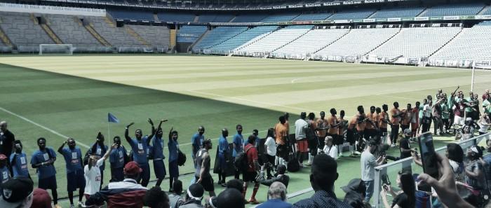 Copa dos Refugiados traz domingo de futebol e integração social na Arena do Grêmio