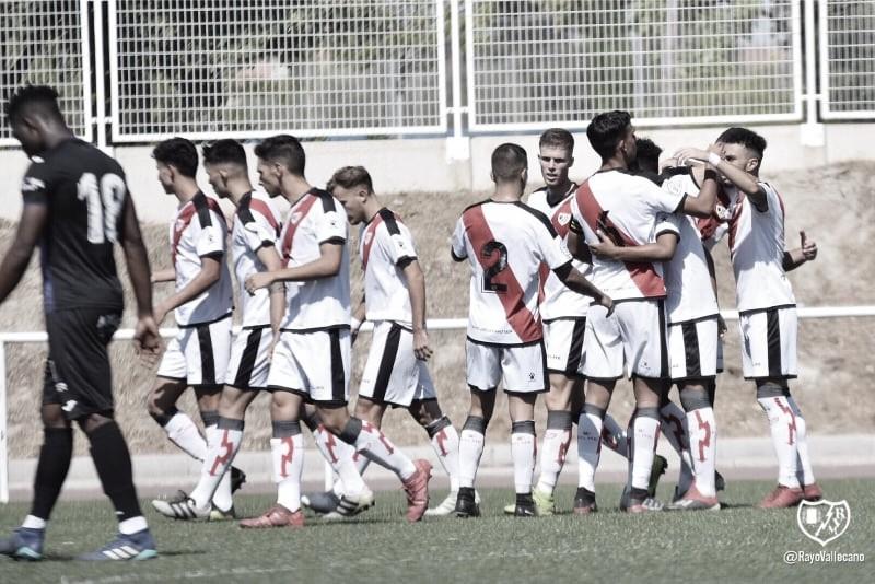 El Rayo B gana la primera jornada de la Copa Federación