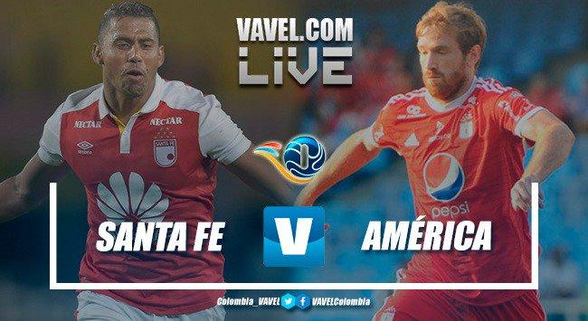 Resumen Santa Fe 1-0 América de Cali por el Torneo Fox 2019