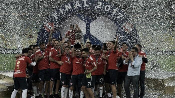 Independiente se consagró campeón de la Copa Sudamericana