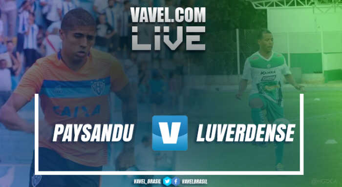 Resultado Paysandu x Luverdense na final da Copa Verde 2017 (1-1)