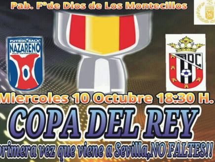 La Copa del Rey llega a Sevilla de la mano del FS Nazareno