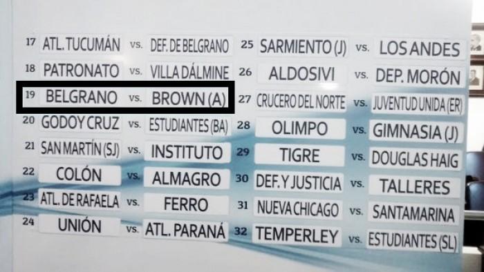 Brown de Adrogué, el rival de Belgrano en Copa Argentina