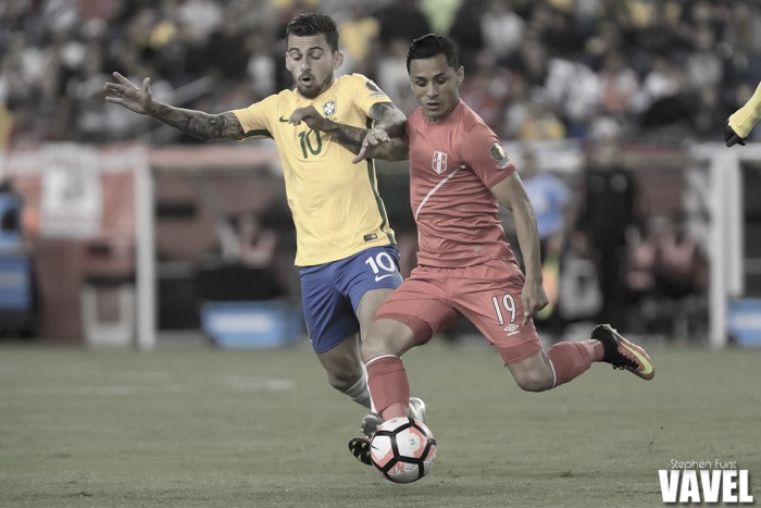 Images and photos of Peru 1-0 Brazil in Copa America Centenario 2016